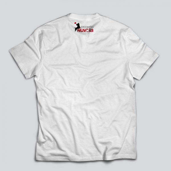 Maglietta nuvola retro